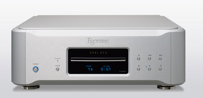 ESOTERIC K-03Xs Super Audio CD /CD Players.