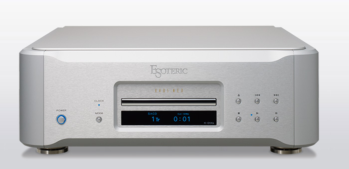 ESOTERIC K-01Xs Super Audio CD /CD Players.